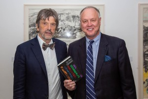 RHA Dublin for the launch of 'The Five Quintets' by Micheal O'Siadhail, which took place on Thursday 4 October, 2018. Pictured is the author, Micheal, and publisher Carey C. Newman of Baylor University Press